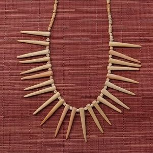 Jewelry - Tribal Clay Bead Necklace
